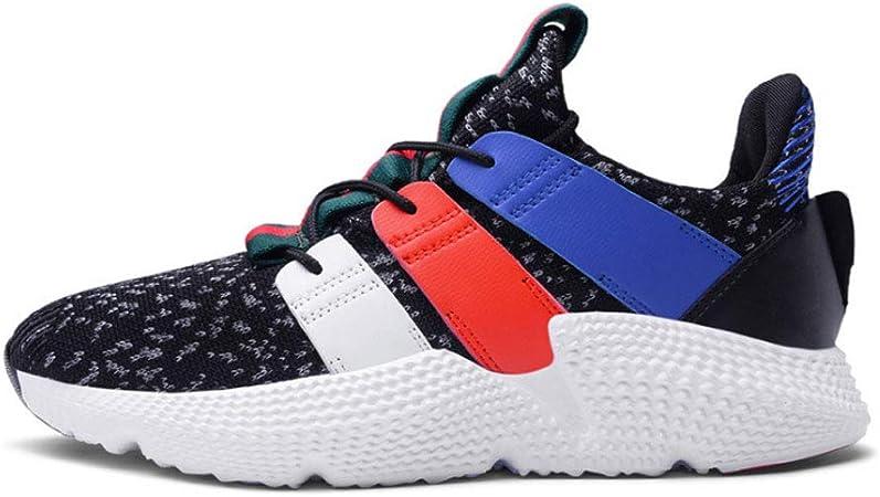 YSZDM Zapatos de Running de los Hombres, Volando Zapatos de ...