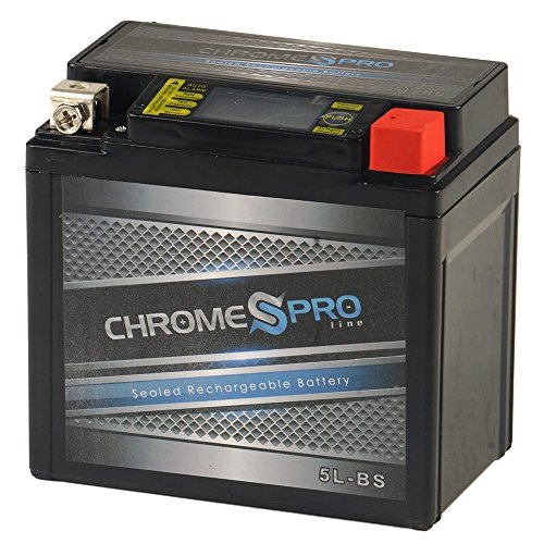 Chrome Battery YTX5L-BS iGel lead_acid_battery