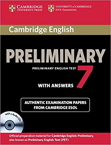 cambridge english preliminary 7 student s book pack student s book