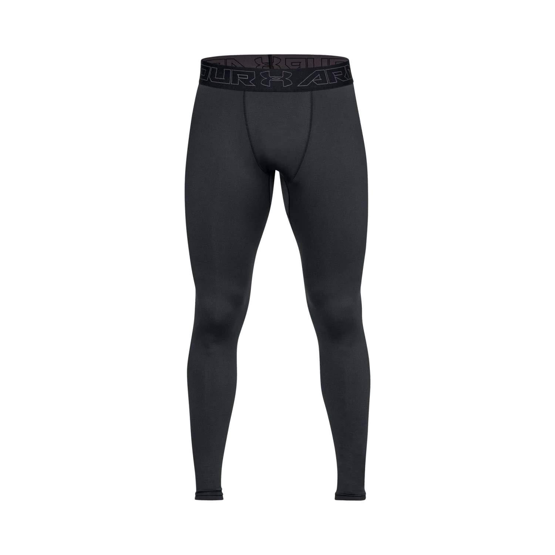 Under Armour Men's Cold Gear Legging, Black/Charcoal, XS-R