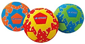Schildkröt Funsports Beachball Beachsoccer Sort, Mehrfarbig, 5, 970178