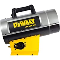 DeWalt DXH125FAV Forced Air Propane Heater