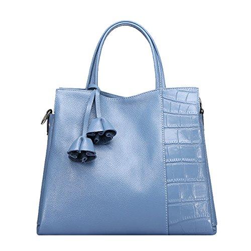 Valin, sac à main bleu moyen pour femmes