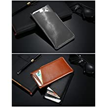 Texay(TM) Genuine Leather Wallet Case For iPhone 7 6 4.7inch Universal Retro Soft Phone Bag For iPhone 5 SE For Samsung S4 A3 J1