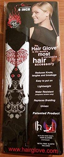 Leather Ponytail Holder - Hair Glove 8