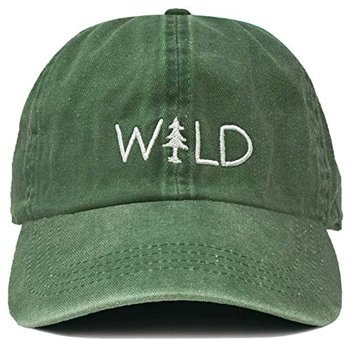 - Funky Junque H-214-WILD43 Dad Hat Unconstructed Low Profile Baseball Cap - Wild, Sage