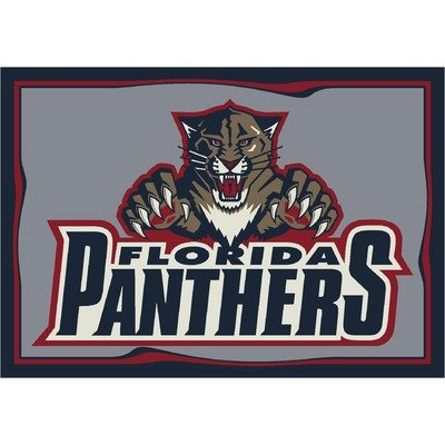 Florida Panthers NHL Team Spirit Area Rug by Milliken, 5'4