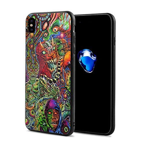 Halloween Mexican Colorful Skull Zombie Scary Makeup iPhone X iPhone Xs Theme Cover Decorative Mobile Accessories Ultra Thin Lightweight Shell Pattern Printed Ornament Decorations]()