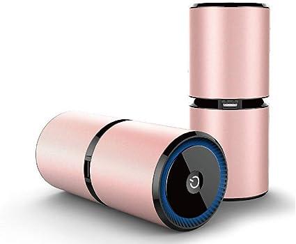 Amazon.es: Purificador de aire para auto ionizador, eliminador de alergias de olores para fumadores, humo, polvo, moho, hogar y mascotas Purificador de aire (Color ...