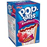 Kellogg's, Pop-Tarts, Frosted Raspberry, 8 Count, 14.7oz Box (Pack of 6)