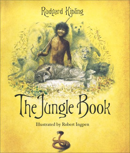 Image result for the jungle book illustrated robert ingpen