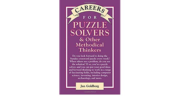 amazon com careers for puzzle solvers other methodical thinkers