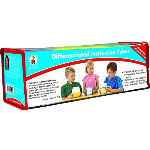 CARSON DELLOSA DIFFERENTIATED INSTRUCTION CUBES (Set of 6)