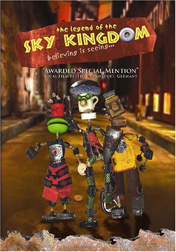 The Legend of the Sky Kingdom Scripture-Cartoon-DVDs for Kids, Cartoons for Kids-Comedy-Adventure Time-Bible Based Teaching-Cartoon Characters-Animals-Animation-Christian Music for Kids-Bible Stories-Bible Stories for Kids-Christian Parable (Cartoon For Kids Dvd)