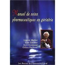 Manuel de soins pharmaceutiques en gériatrie