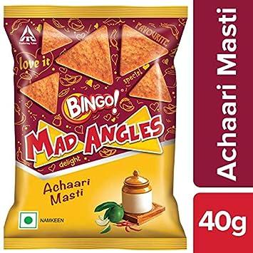Bingo Mad Angles Achaari Masti, 40g Pouch