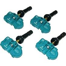 New Set (4pcs) Mobiletron TPMS TX-S003-SN For Audi/BMW/Mini/Porsche/VW 282189, 36236798726, 7P0907275, 95560602100, 95836166100, 99760602120, AD43-360671-AA 433MHz Tire Pressure Monitor System Sensor