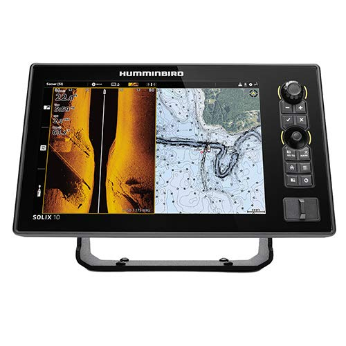 Humminbird 411010-1 SOLIX 10 CHIRP MEGA SI Fishfinder GPS G2 with Transducer