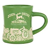 John Deere Stoneware Green Ceramic Model D Mug