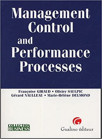 Livre gratuits en ligne Management Control and Performance Processes epub pdf
