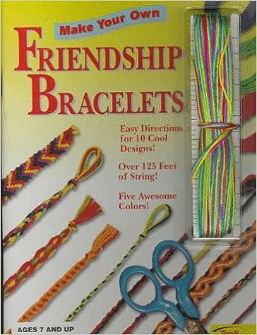 5a86b1fdd8776 Make Your Own Friendship Bracelets: Kate Mason: 9780816731121 ...