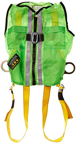 Guardian Fall Protection 02200 Green Mesh Construction Tux Harness, Small by Guardian Fall Protection (Image #2)