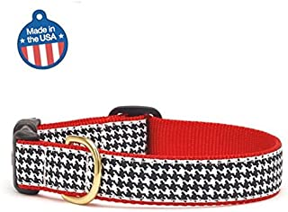 product image for Up Country Classic Black Houndstooth Dog Collar