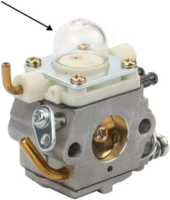 KingYH 12 Pi/èces Carburant Primer Ampoule Pompe /à Capuchon 19 mm et 22 mm Carburateur Amorceur Ampoules Bouchon Pi/èces de Carburateur pour Tron/çonneuse Souffleur Tondeuse D/ébroussailleuse