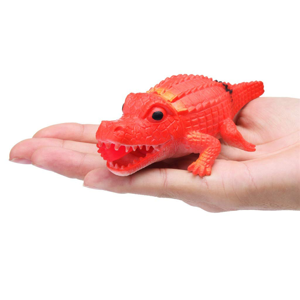 Squeeze Toy 14cm Crocodile Stress Ball Alternative Humorous Light Hearted Funny Toys (Green): Amazon.com: Grocery & Gourmet Food