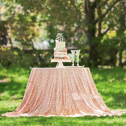B-COOL Geometric Pattern Sequin Tablecloth Luxury Diamond Table 72