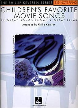 Book CHILDREN'S FAVOURITE MOVIE SONGS PF (Phillip Keveren)
