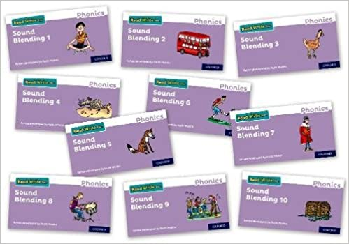 Read Write Inc. Phonics: Sound Blending Books - Mixed Pack of 10 (1 of each): Amazon.co.uk: Archbold, Tim, Miskin, Ruth: 9780198424567: Books
