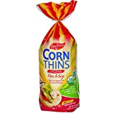 Corn Thins Flax and Soy, 150gm