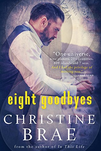 He's a dedicated scientist, practical and grounded— while she's a head-in-the-clouds romance author. The world becomes their playground as they explore love in different countries and settings in…Eight Goodbyes by Christine Brae