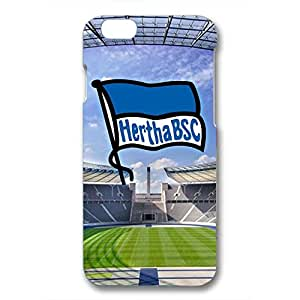 Unique Design FC Hertha BSC Theme Football Club Phone Case Cover For Iphone 6/6S 3D Plastic Phone Case