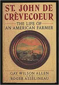 de crevecoeur what is an american summary An analysis of letters from an american farmer by j hector st john de crèvecœur  j hector st john de crevecoeur, american farmer, letters from american farmer.