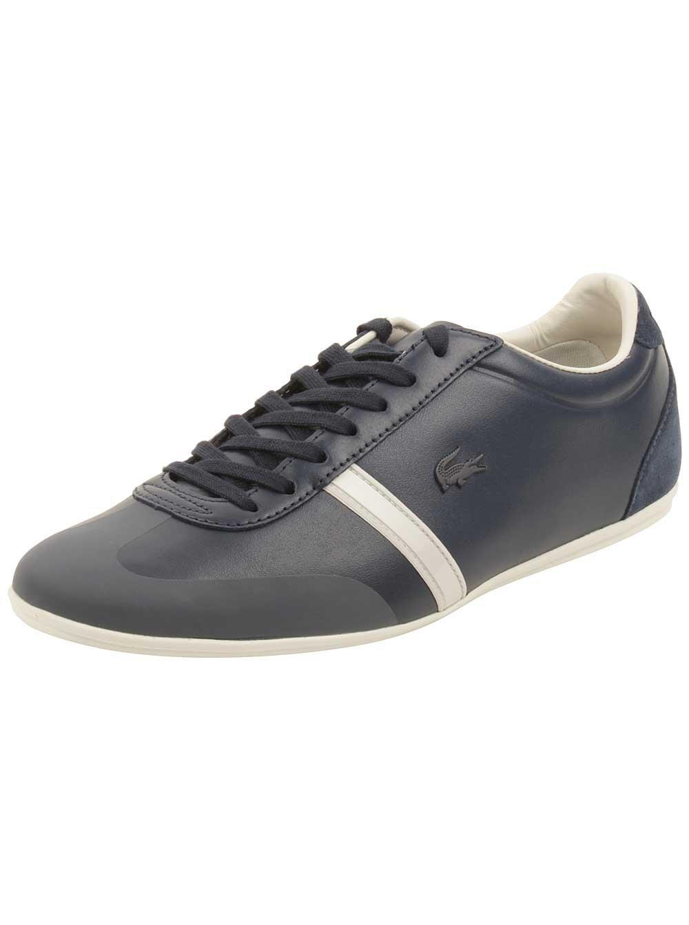 Lacoste Men's Mokara 316 1 Cam Fashion Sneaker, Navy, 9 M US
