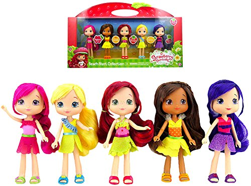Strawberry Shortcake Beach Party Collection Exclusive Doll set 6