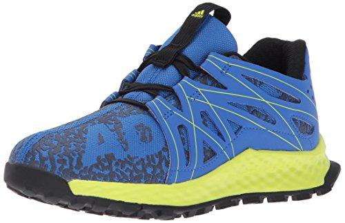 Price comparison product image adidas Originals Boys' Vigor Bounce Running Shoe, Blue/Grey/Semi Solar Yellow, 1 Medium US Little Kid