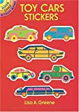 Toy Cars Stickers, Lisa A. Greene, 0486276929
