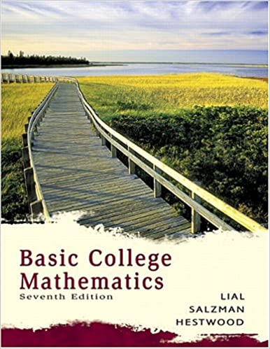 Basic College Mathematics (7th Edition): Margaret L. Lial, Stanley ...
