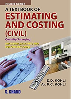Buy civil estimating costing including quality surveying a textbook of estimating and costing civil fandeluxe Images