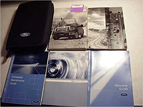 Ford F  F Owners Manual Ford Motor Company Amazon Com Books