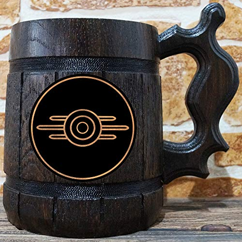 - Fallout Vault-Tec Beer Mug, Fallout Beer Stein, Gamer Gift, Personalized Beer Stein, Fallout Tankard, Custom Gift for Men, Gift for Him