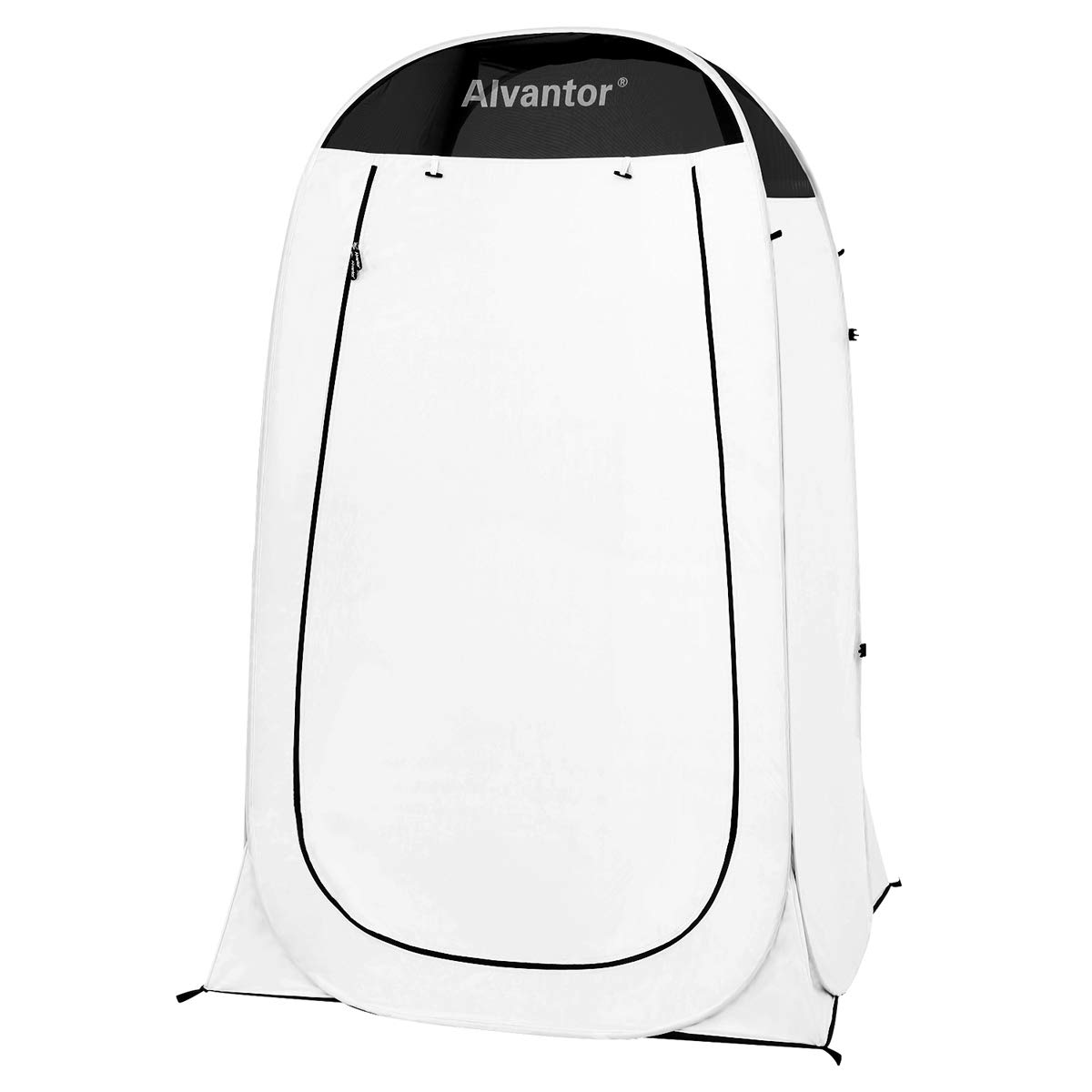 Alvantor Shower Tent Changing Room Outdoor Toilet Privacy Pop Up Camping Dressing Portable Shelter Teflon Coating 4'x4'x7' Patent by Alvantor