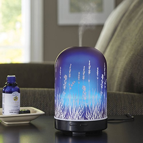 Better Homes and Gardens 100 ML Essential Oil Diffuser, Lavender Fields