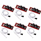 HONG111 6Pcs Optical Endstop Limit Light Control Switch with Cable Control Limit Switch for 3D Printer RepRap RAMPS 1.4