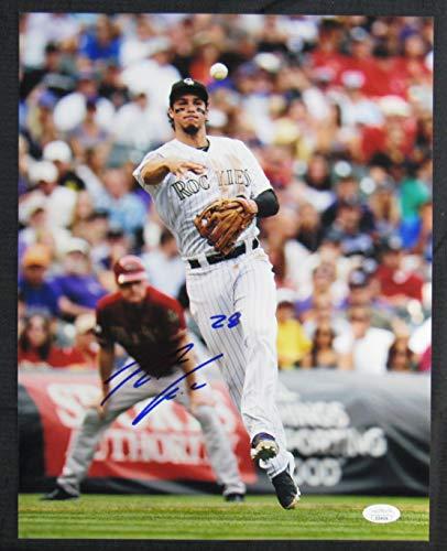 Nolan Arenado Signed Auto Autograph 11x14 Photo JSA -