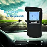 GREENWON Prefessional Police Digital Fuel cell sensor breath alcohol tester Breathalyzer AT-868F Free Shipping