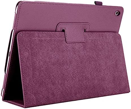 New iPad 10.2-inch 2020&2019 Case, FANSONG iPad 8 Flip Leather Cases with Stand [Auto Sleep/Wake up] Slim Smart Cover for iPad 8th/7th Generation 2019 Case,Purple